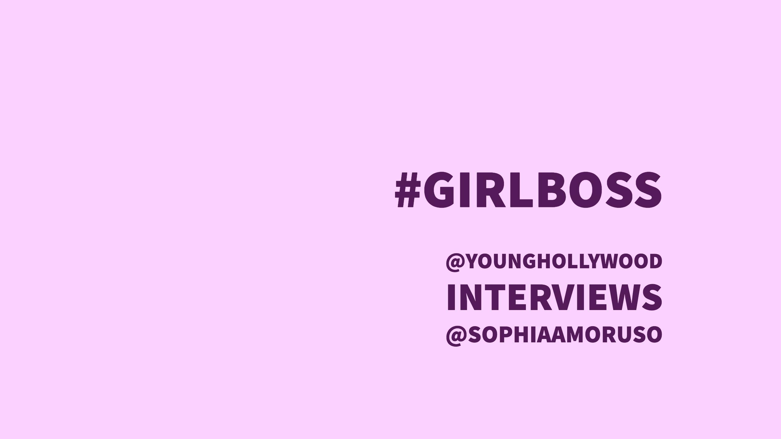 Nasty Gal Founder Sophia Amoruso on How to Be a #Girlboss!