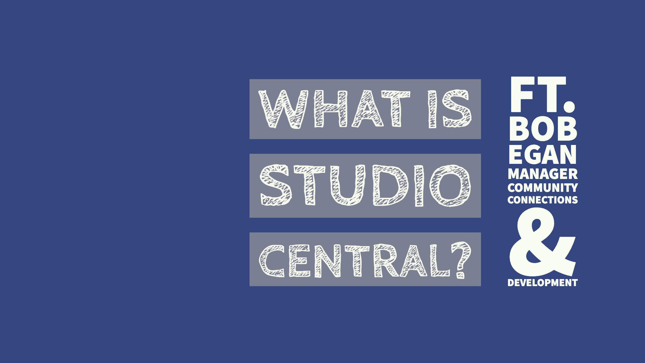 What is @KitchLibrary Studio Central?