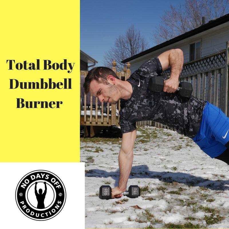 Total body Dumbbell Burner
