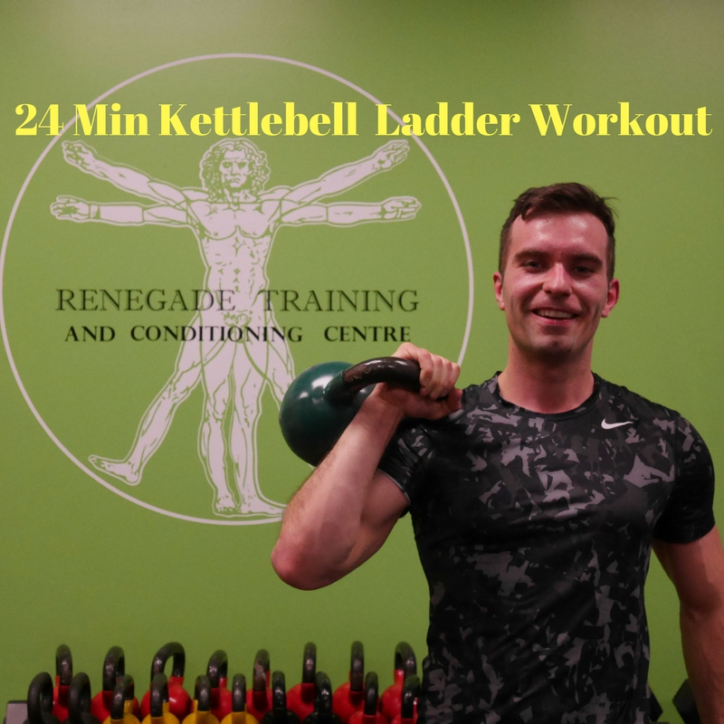 24 Min Kettlebell Ladder Workout