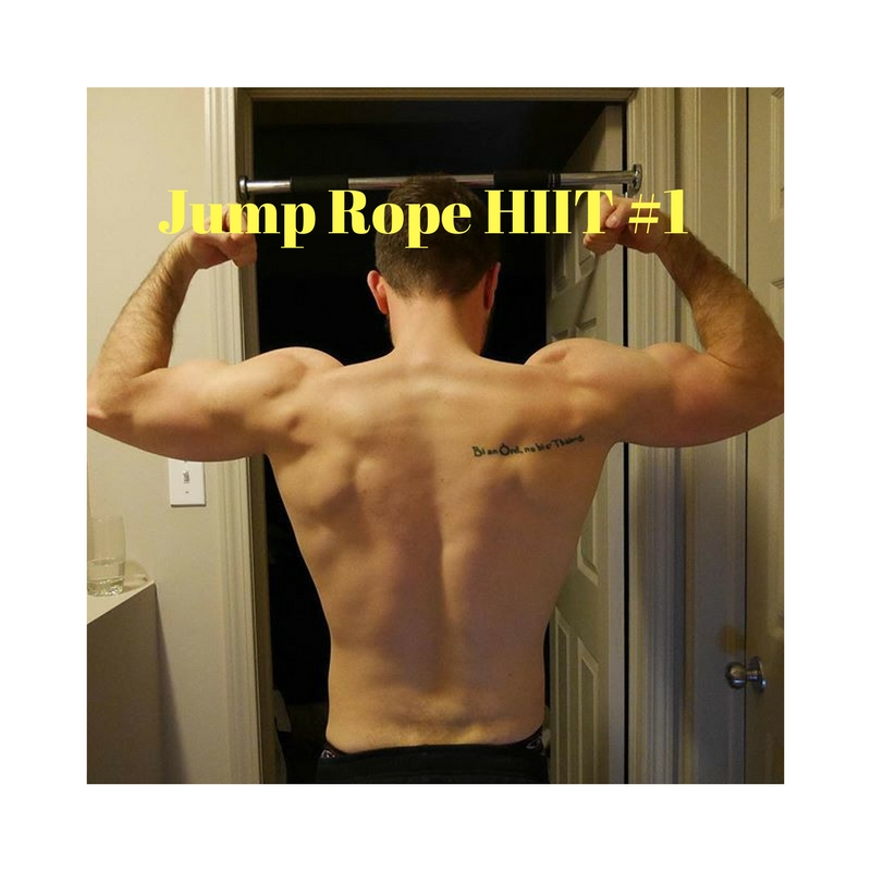 Jump Rope HIIT #1 shred calories fast